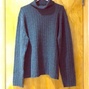 Banana Republic XL Men's Grey Turtleneck Sweater